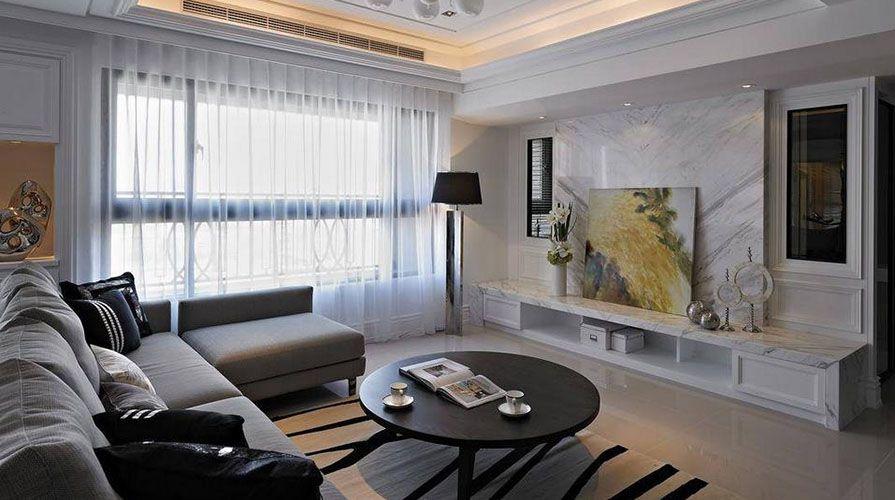 客厅怎么装修显得大